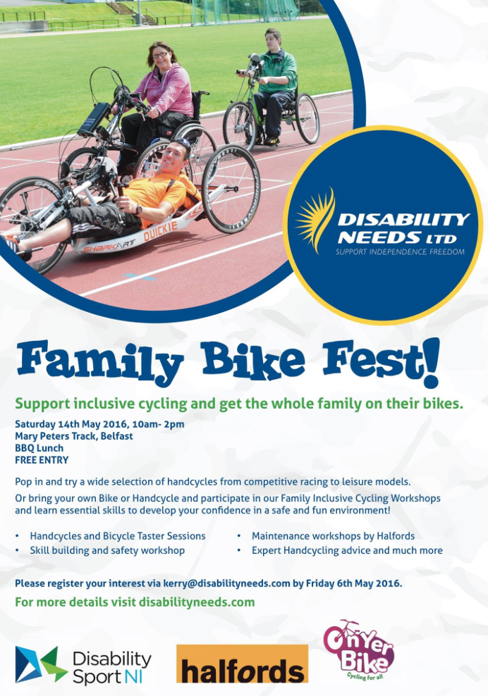 Great family day out testing Team Hybrid handcycles!