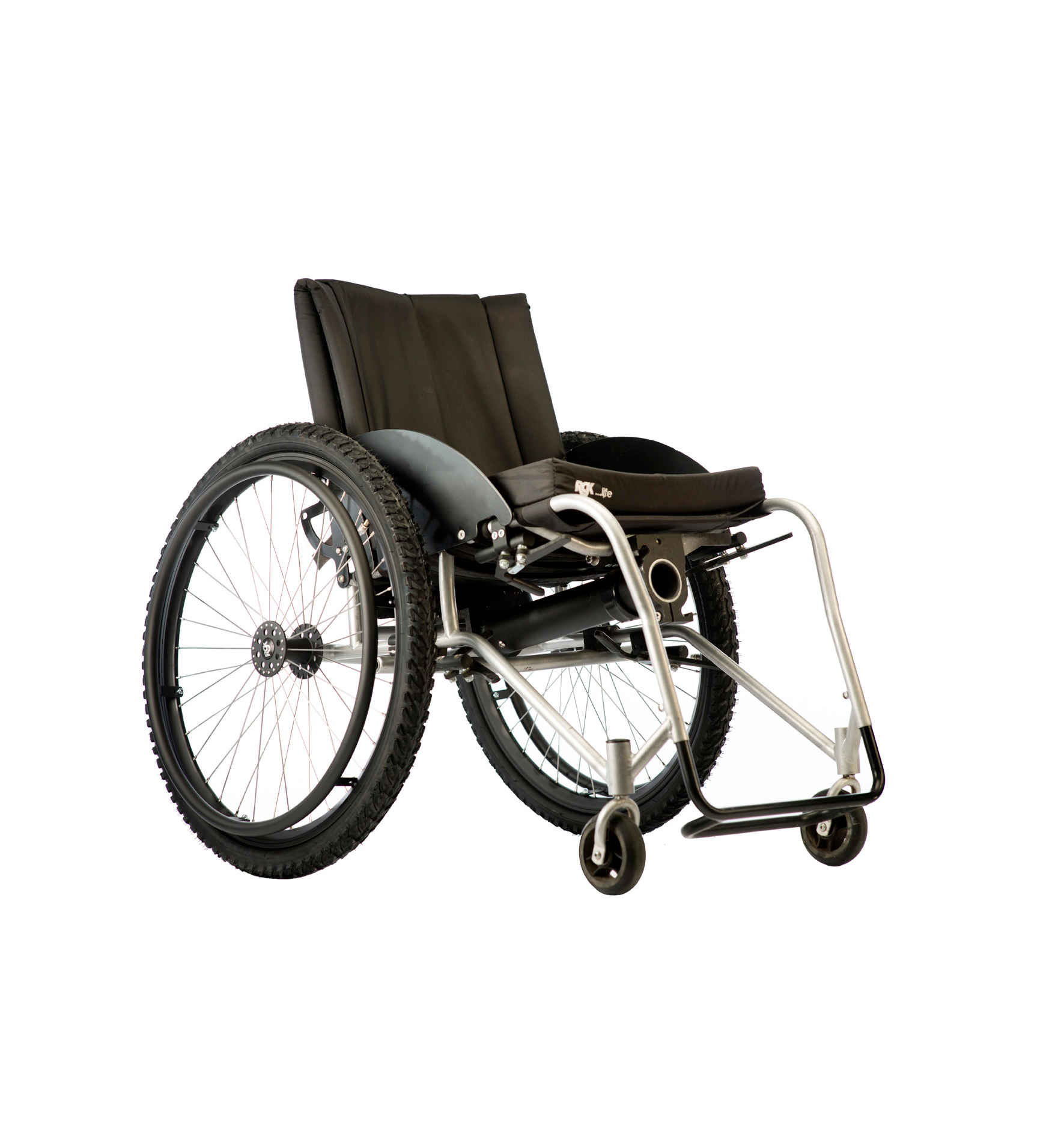 RGK Chrome wheelchair