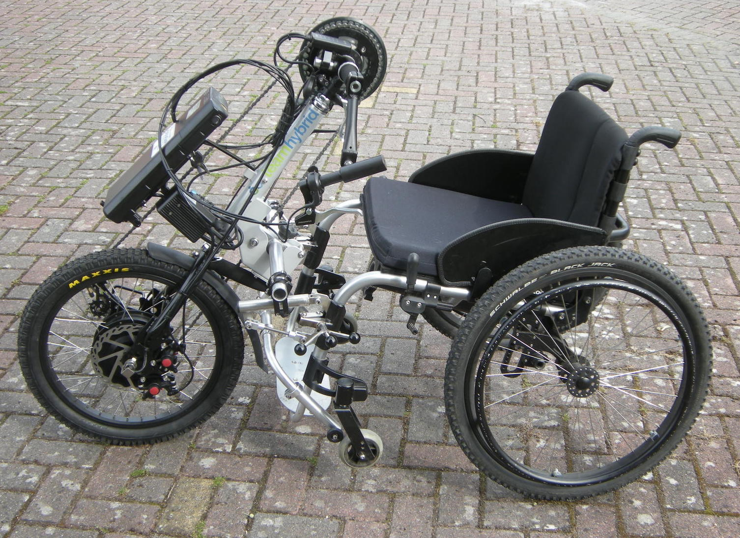 Cougar Life Reviews >> Hybrid Clip-On Handcycle | Hybrid Handcycle with Pedelec ...