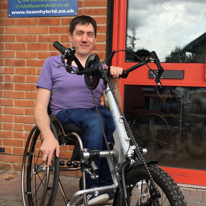 David Proud - Clip-On Coyote S11 Handcycle